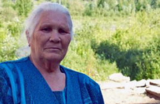 У бабушки Насти доброе сердце