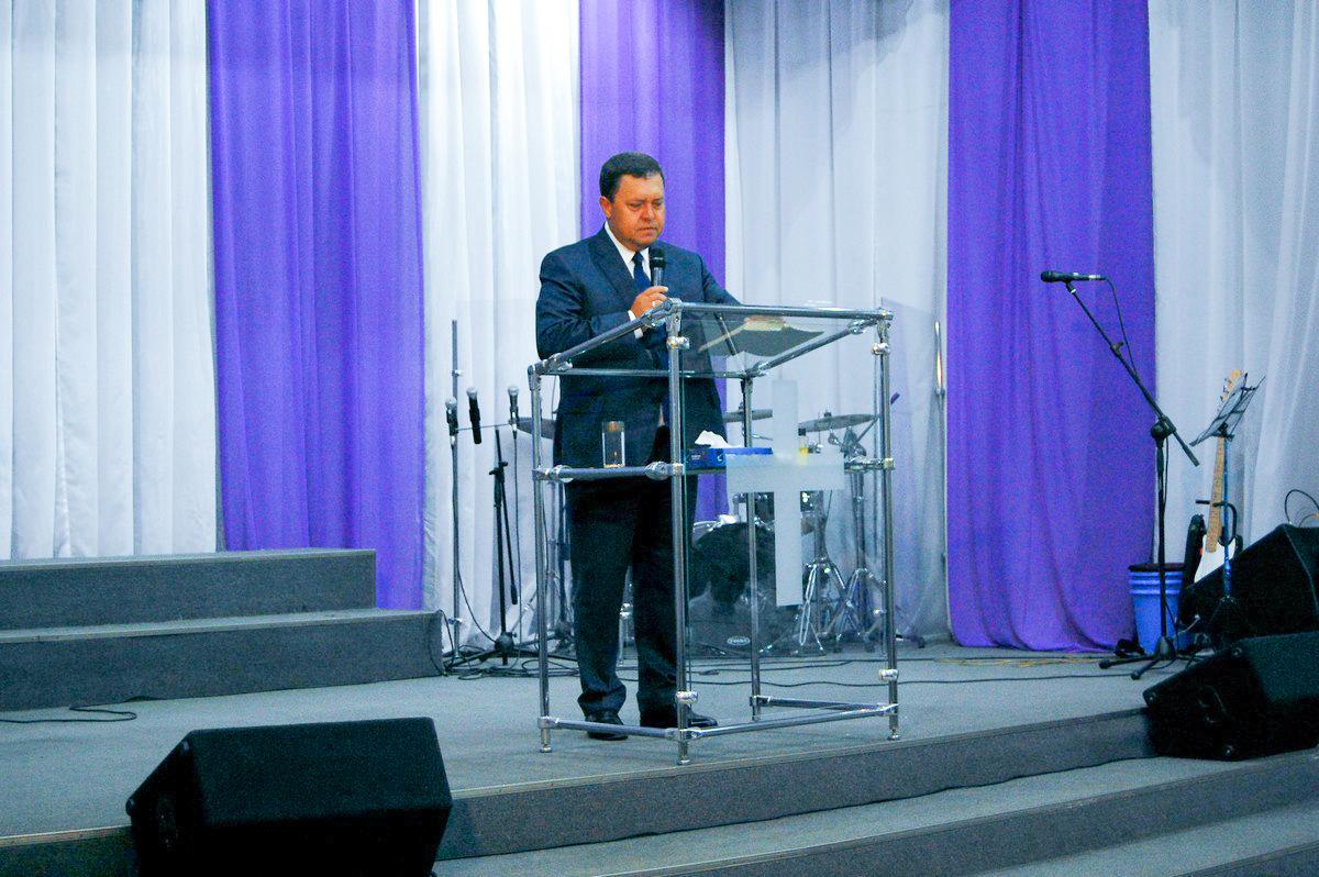 Начальствующий епископ проповедовал в церкви «Источник Жизни» г.Сыктывкара