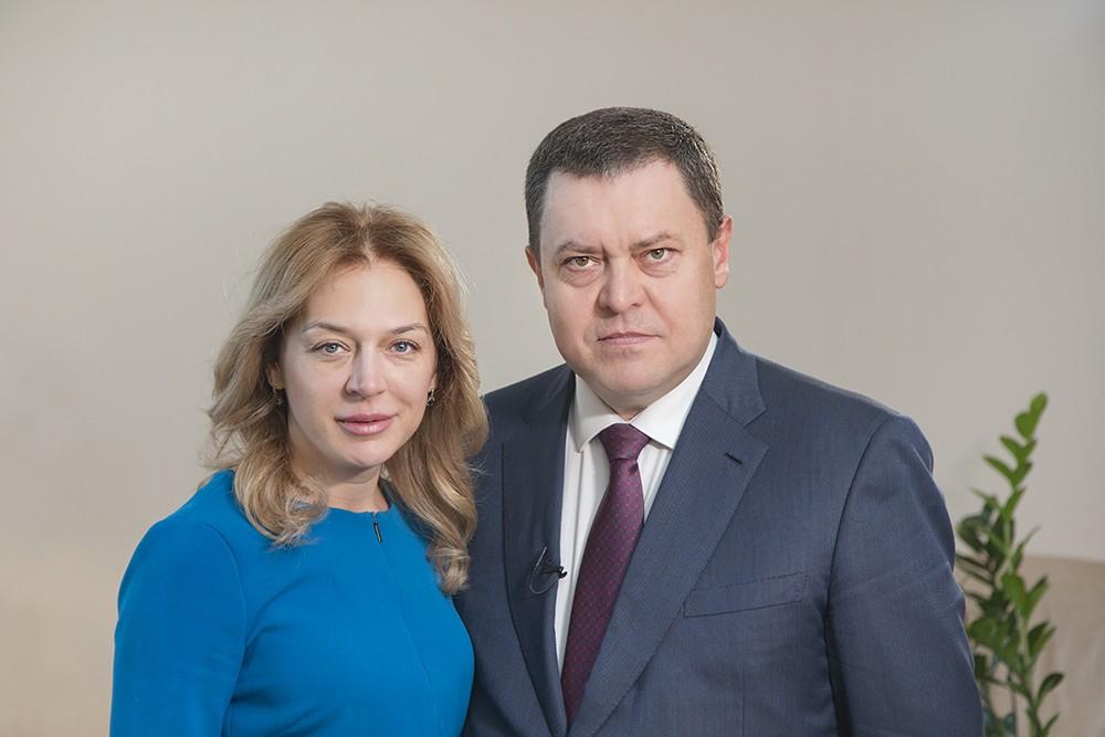 Поздравление Э.А. Грабовенко с Рождеством Христовым и новым 2018 годом
