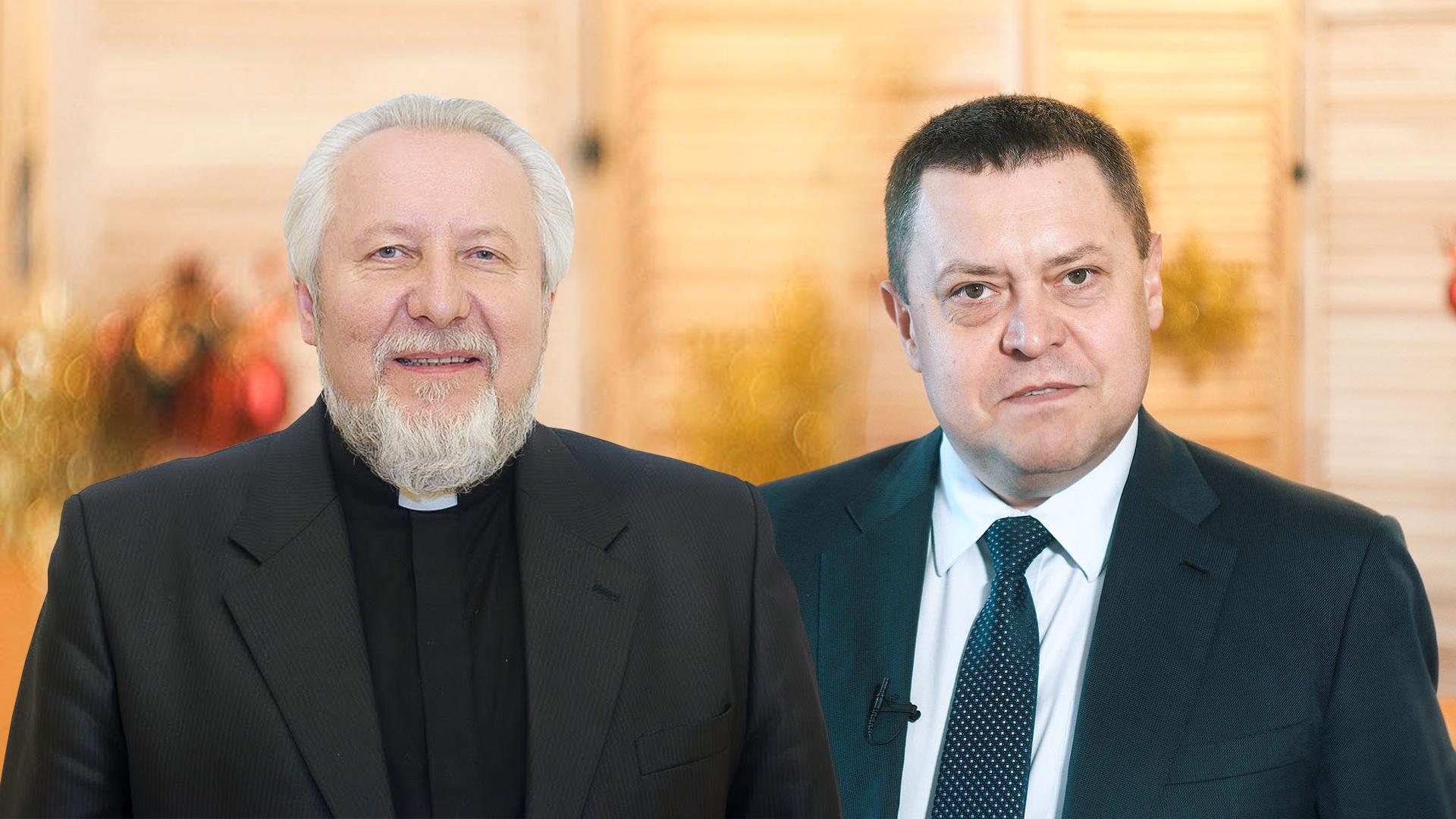 Совместное рождественское поздравление глав  Российской Церкви христиан веры евангельской и  Российского объединенного Союза христиан веры евангельской (пятидесятников)