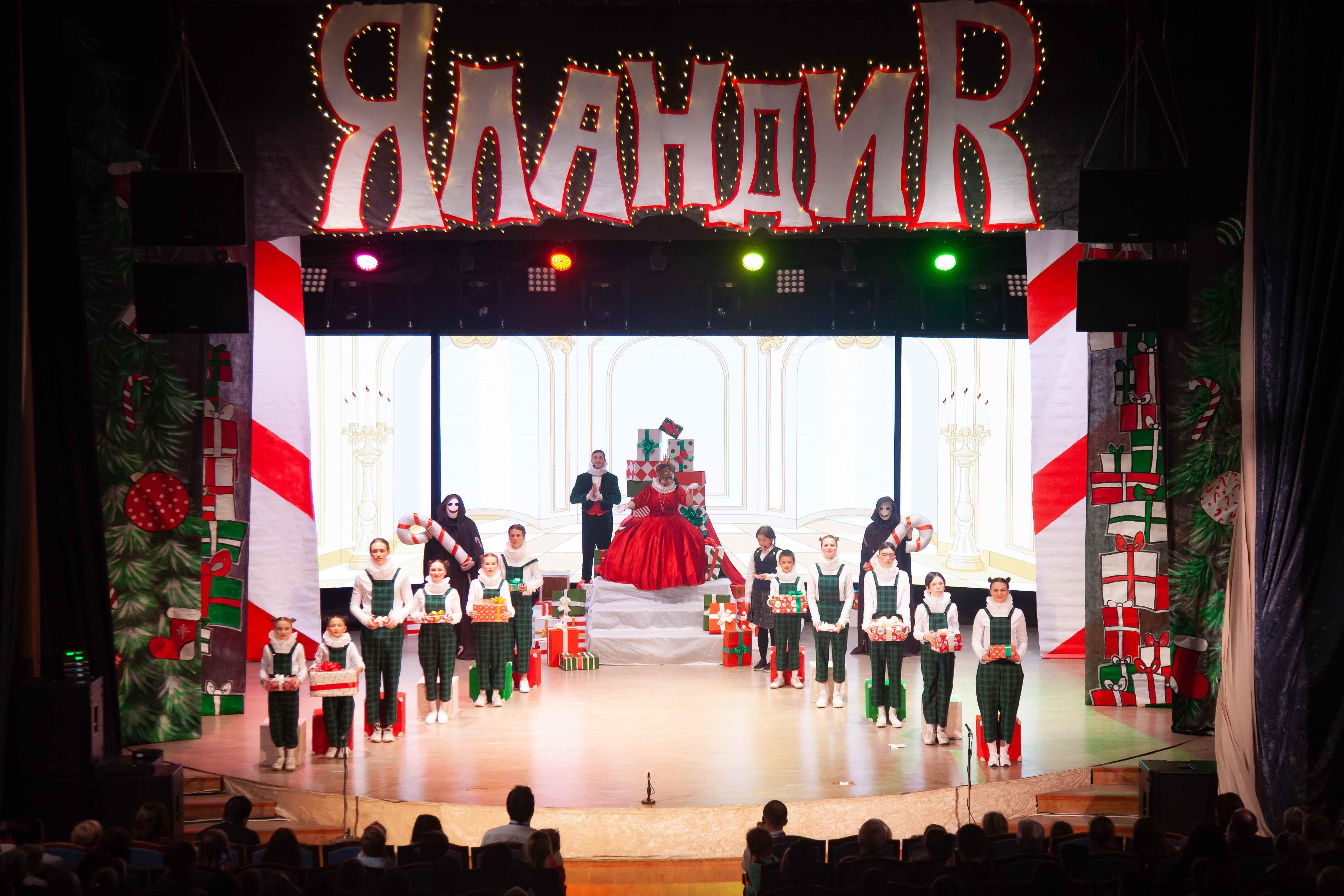 Благотворительные рождественские спектакли прошли в Перми